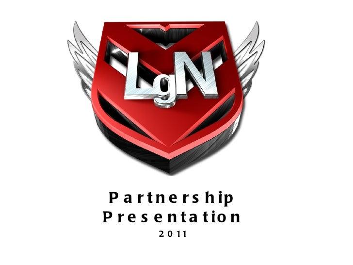 Partnership Presentation 2011