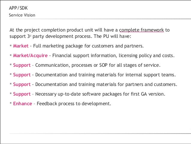 Partnership program sample