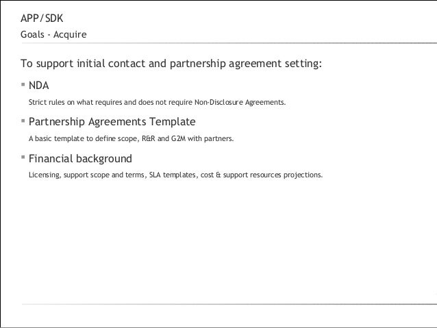partnership template
