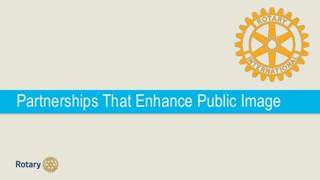 Partnerships That Enhance Public Image
