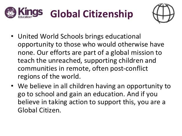 Partnership with United World Schools