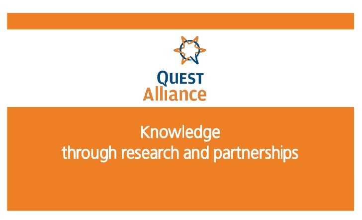 Knowledge through research and partnerships