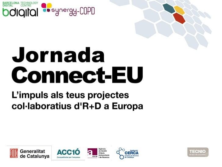 Jornada CONNECT-EU   20 setembre 2012