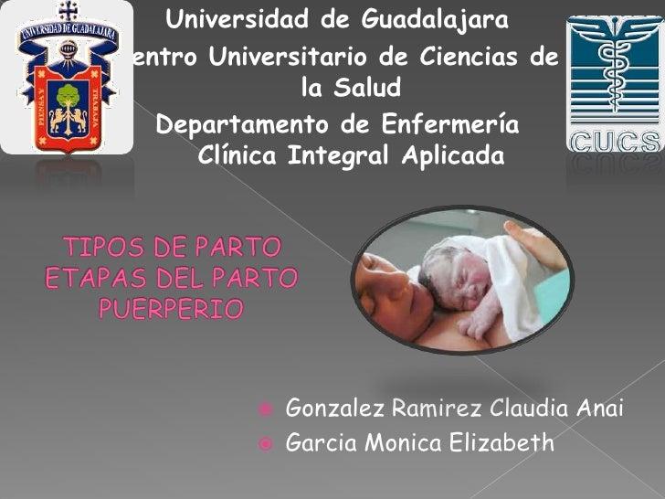 Universidad de Guadalajara<br />Centro Universitario de Ciencias de la Salud<br />Departamento de Enfermería Clínica Integ...