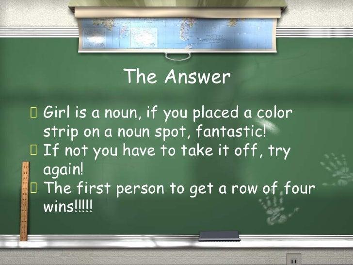 Part Of Speech Bingo1