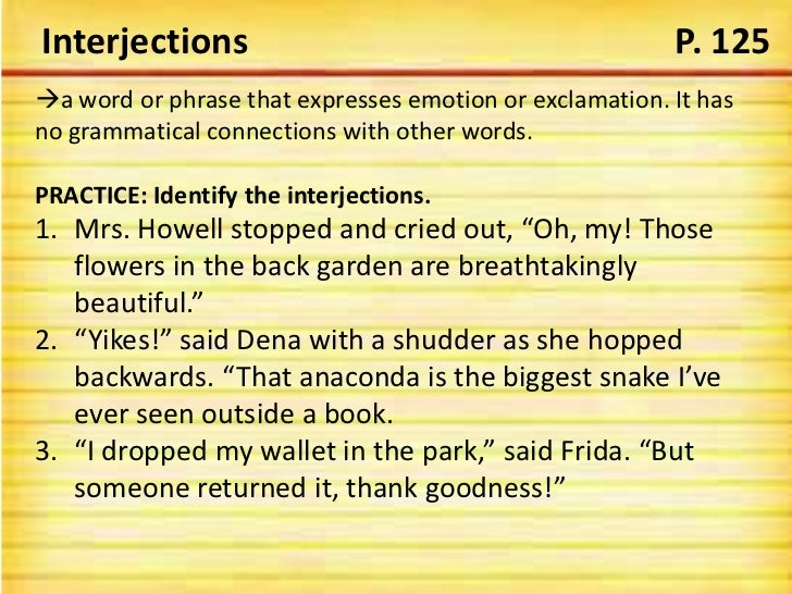 Adverbs Prepositions Conjunctions Interjections And Post Test