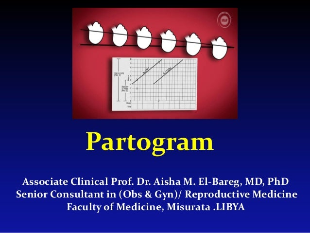 Partogram Associate Clinical Prof. Dr. Aisha M. El-Bareg, MD, PhD Senior Consultant in (Obs & Gyn)/ Reproductive Medicine ...