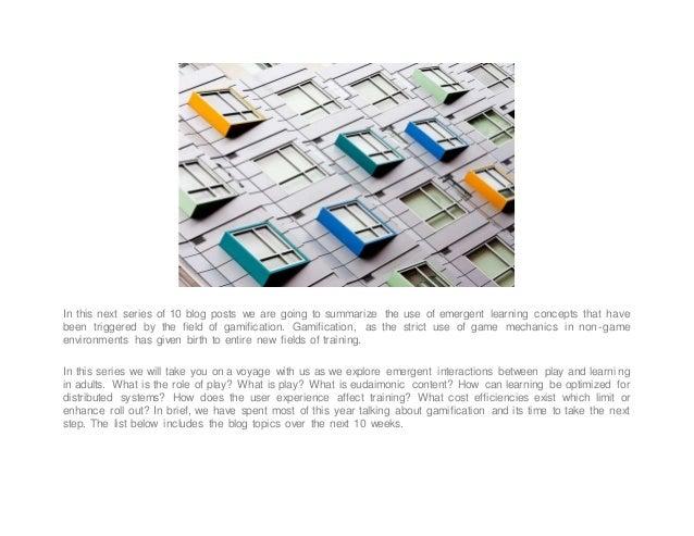 Emerging Learning and Development Models: Part One Slide 2