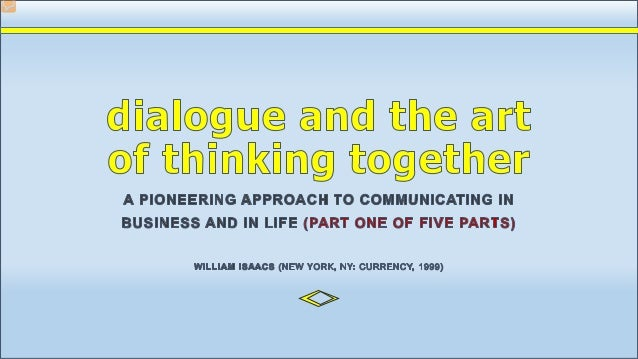 deliberative dialogue reflection Brief overview of social deliberative skills 1 tom murray  and meta-dialogue (cor-rective reflection into the quality of a deliberation or collaboration.