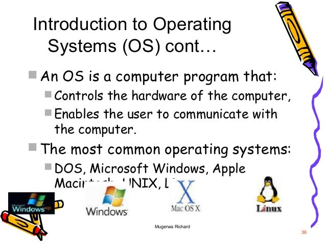 an introduction to the review of operating systems dos and windows 95 Windows 98 is released by microsoft in june 25 it is a mixed 16 bit/32 bit windows operating system windows98 will not run on the ms-dos operating system.