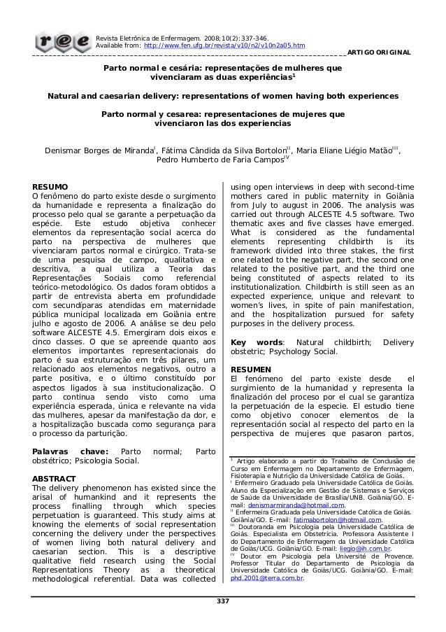 Revista Eletrônica de Enfermagem. 2008;10(2):337-346.Available from: http://www.fen.ufg.br/revista/v10/n2/v10n2a05.htm____...