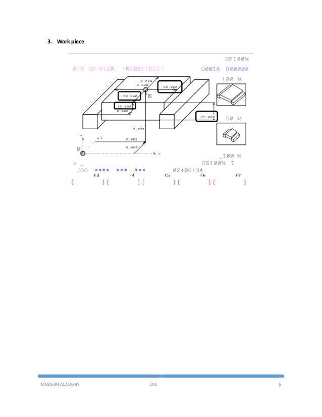 Part program Example