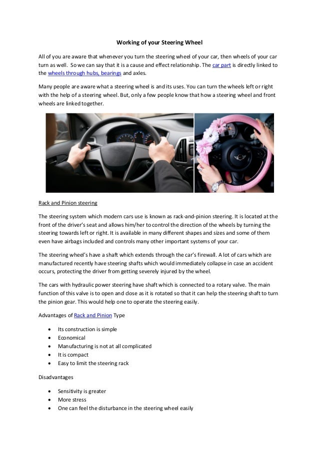 Parts Avatar Canada has the finest quality of steering wheels which w…