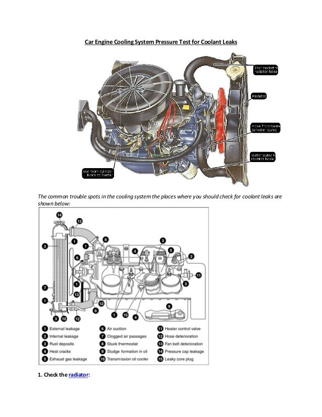 Partsavatar, Canada - How can i find leaks in my car