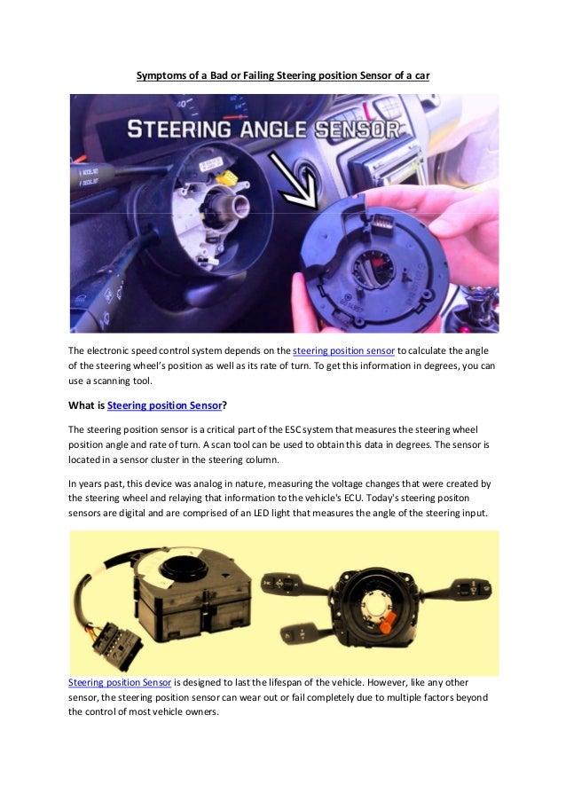 Partsavatar CA - Symptoms of a bad or failing steering position senso…