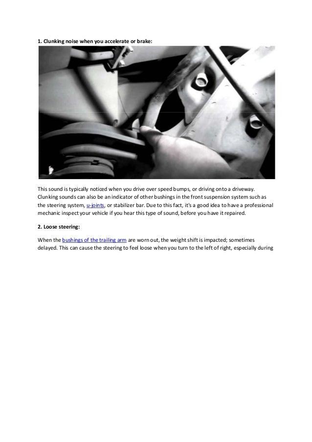 Partsavatar Auto Parts, Toronto - The symptoms of a bad arm