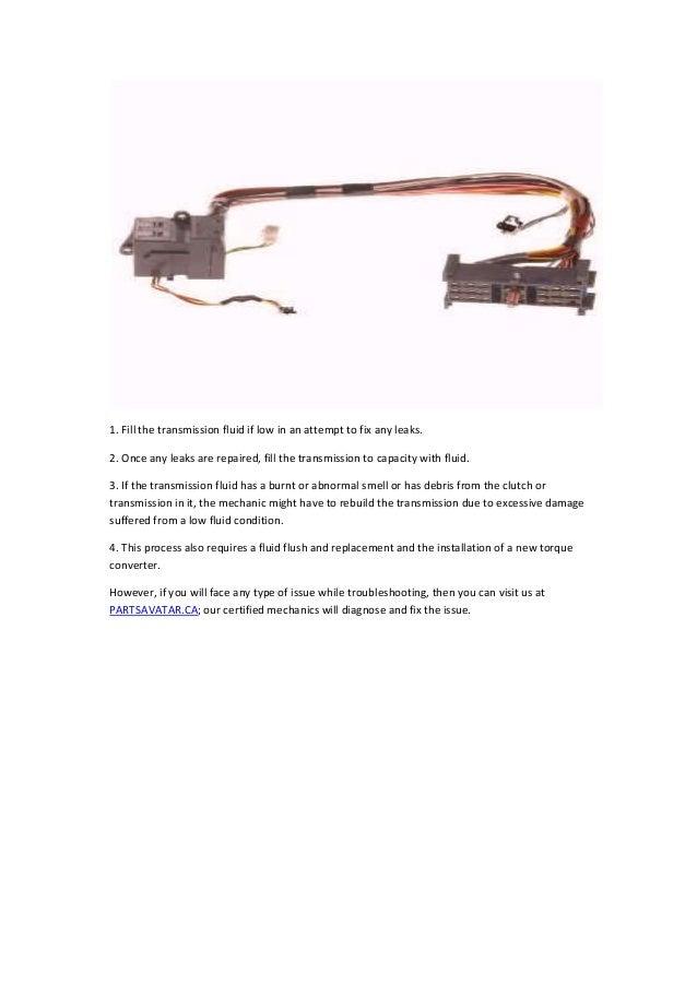 Partsavatar CA - P0753 OBD II trouble diagnose shift solenoid of car