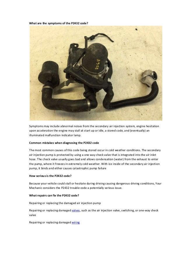 Partsavatar, Toronto - Fixing error Code P2432 Problem with Secondary…