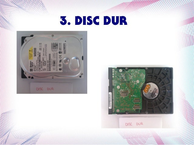 3. DISC DUR