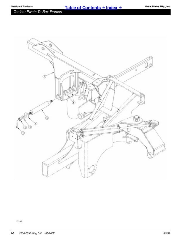 Great plains parts manual 2 section folding drill
