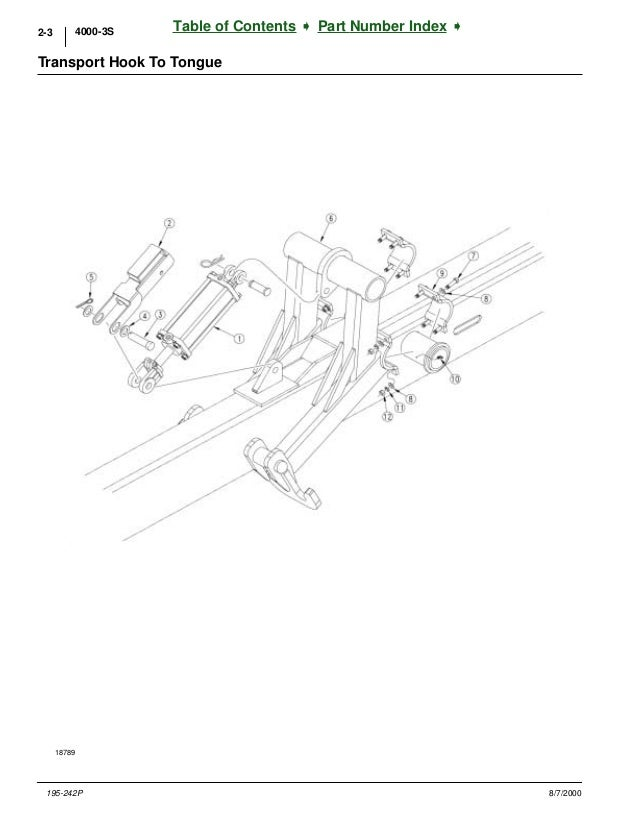 Great plains Parts manual 3 s 4000f section folding drill