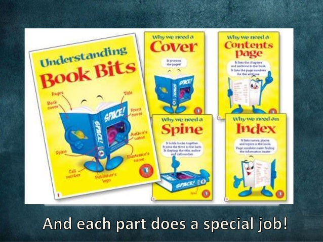 Library Skills – Parts of a Book Worksheet