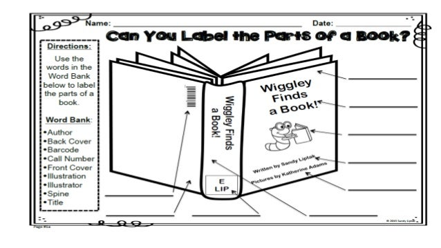 Parts of a book powerpoint 21 ccuart Choice Image