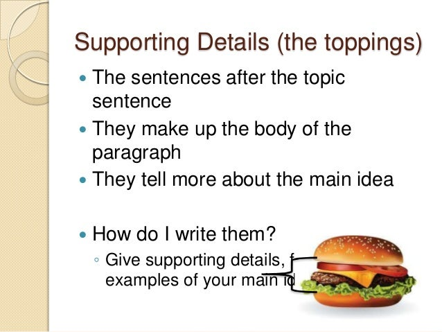 topic paragraph
