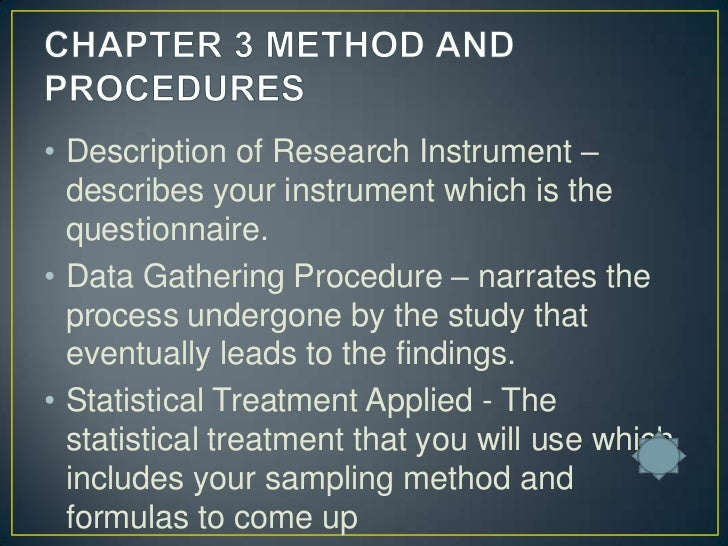 sampling procedure in research paper Research methodology for research paper projects outline and explain how research should be conducted.