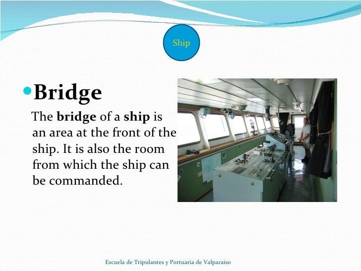 Parts of a ship