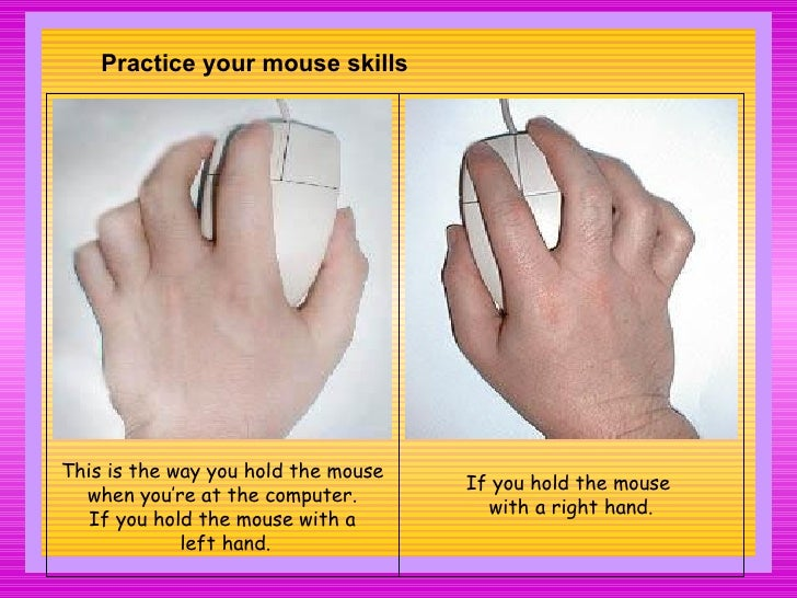 Parts Of Computer Keyboarding Mouse