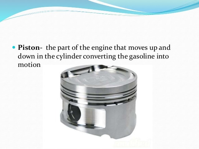 Parts of engine