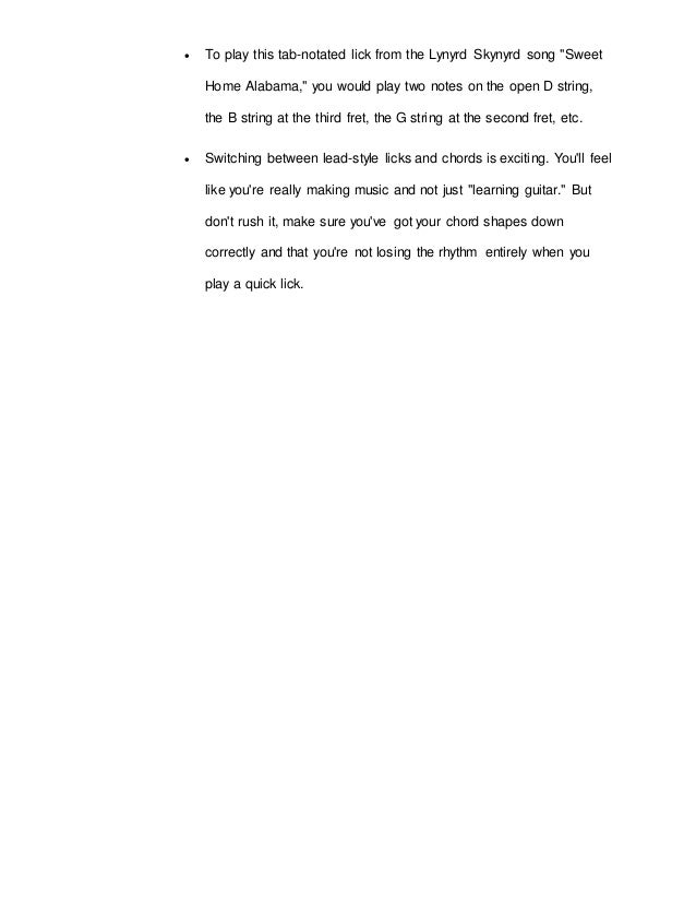 Research Paper on Guitar