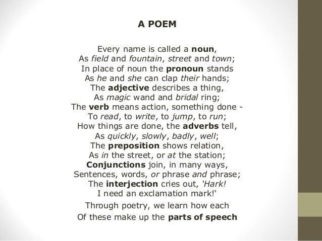 Speech Poems | Examples of Speech Poetry