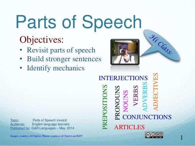 Identify Parts Of Speech In A Sentence Online