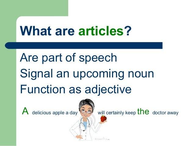 Parts Of Speech Clipart