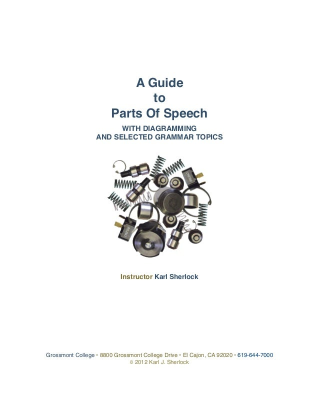 Parts of speech_handbook
