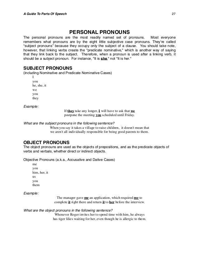 Parts of speechhandbook 26 28 stopboris Choice Image