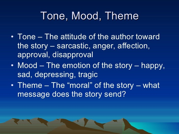tone of a narrative essay To get some ideas about what tone to take in a personal narrative essay, see these examples still worried about controlling the tone of an essay our editors at kibin have a complete understanding of tone and can't wait to help you sort it out.
