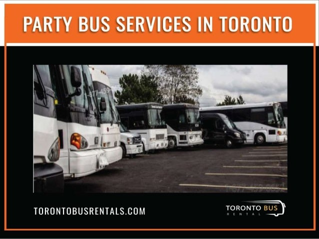 Party Bus Services In Toronto