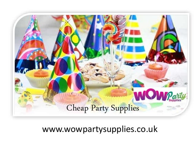 cheap party supplies wwwwowpartysuppliescouk - Cheap Party Decorations