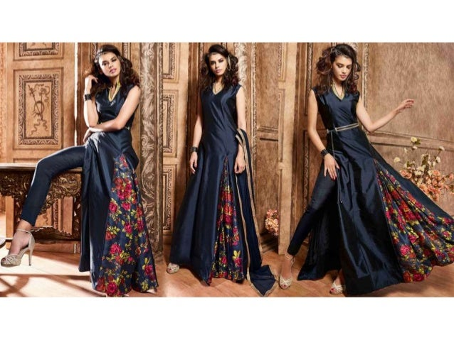 Party Dresses For Womens: Latest Indo Western Gown & Long Designer Dr…