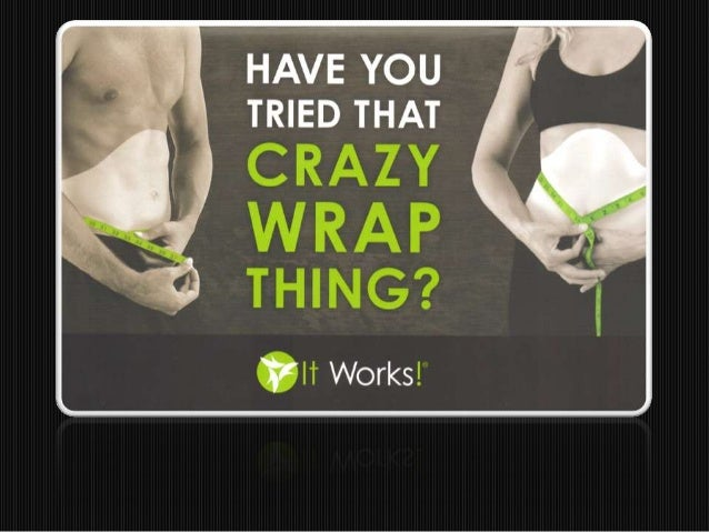 Toning Body Wrap - Results!  It Works UK