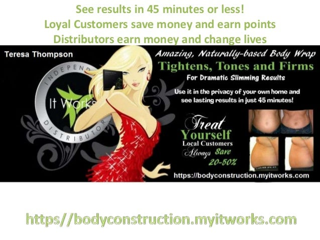See results in 45 minutes or less!Loyal Customers save money and earn points  Distributors earn money and change lives