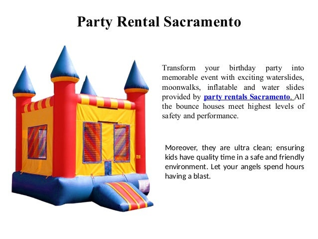 Grab The Best Party Favors At Party Rentals Sacramento