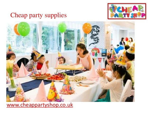 Party Supplies Uk