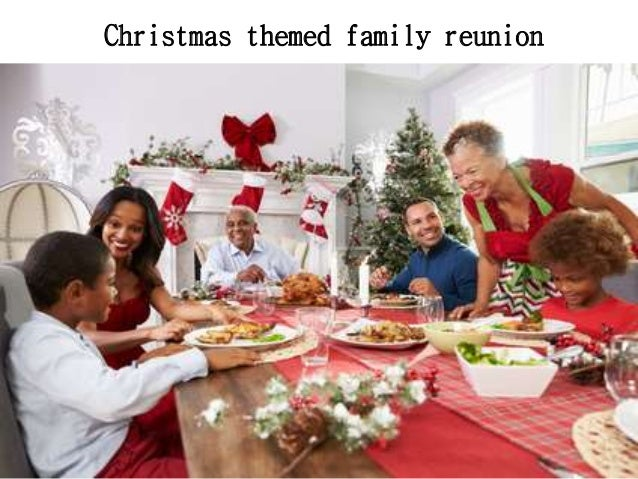 Party themes for family reunions