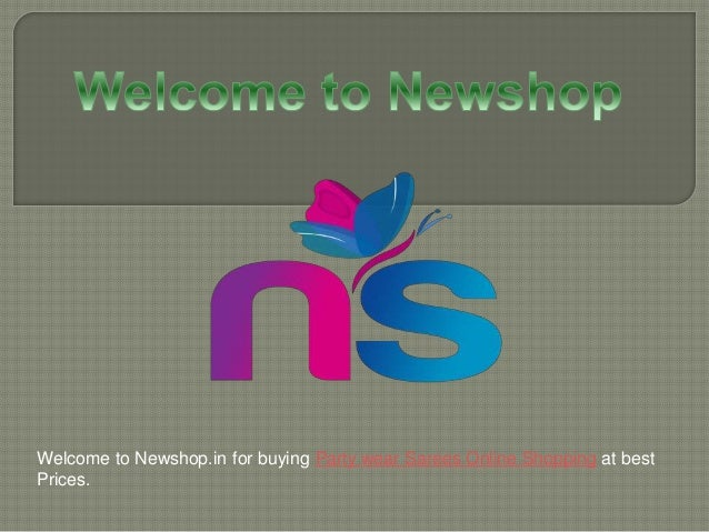 Welcome to Newshop.in for buying Party wear Sarees Online Shopping at best Prices.