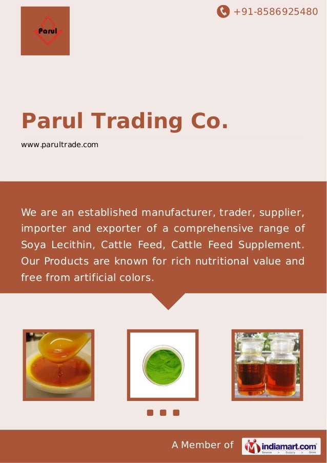 +91-8586925480  Parul Trading Co. www.parultrade.com  We are an established manufacturer, trader, supplier, importer and e...