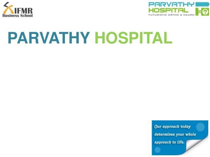 PARVATHY HOSPITAL<br />